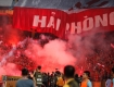 V-League side Quang Ninh and Hai Phong to receive penalties from VFF for flares sticks reasons