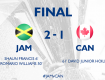 Highlights: Jamaica 2-1 Canada (Tứ kết Gold Cup 2017)