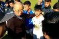 VIDEO: HAGL giới thiệu 'Siêu nhân nhí' với HLV Park Hang Seo