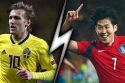 Dự đoán kết quả, tỷ số World Cup Thụy Điển vs Hàn Quốc 19h00 18/6