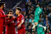Kết quả Cúp C1 hôm nay 18/4: Liverpool, Tottenham đi tiếp