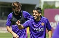 Barca nhận tin từ Suarez trước trận CK Cúp nhà Vua