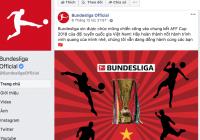 Sau La Liga, tới lượt Bundesliga chúc mừng đội tuyển Việt Nam
