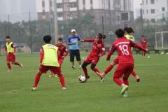 Lịch thi đấu của đội tuyển nữ Việt Nam tại VL thứ 2 Olympic 2020