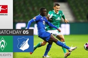 Highlights Bremen 1-1 Hoffenheim | Vòng 5 Bundesliga 2020/21