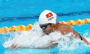 Kết quả bơi Asian Indoor Games: Ánh Viên, Kim Sơn vào CK