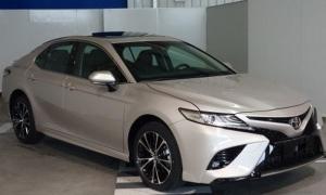 Toyota Camry 2018 cho thị trường Trung Quốc lộ diện