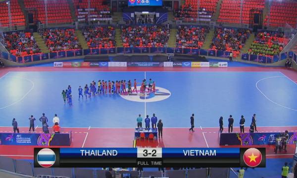 Video Futsal: Nữ Việt Nam 0-0 Nữ Thái Lan (Pen 2-3)