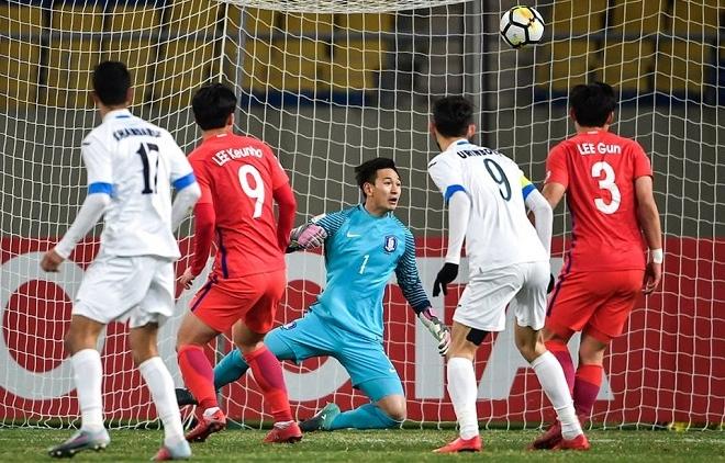 Bại trận trước Hàn Quốc, Uzbekistan thót tim giành vé đi tiếp