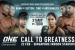 TRỰC TIẾP ONE Championship Call To Greatness - 18h ngày 22/2