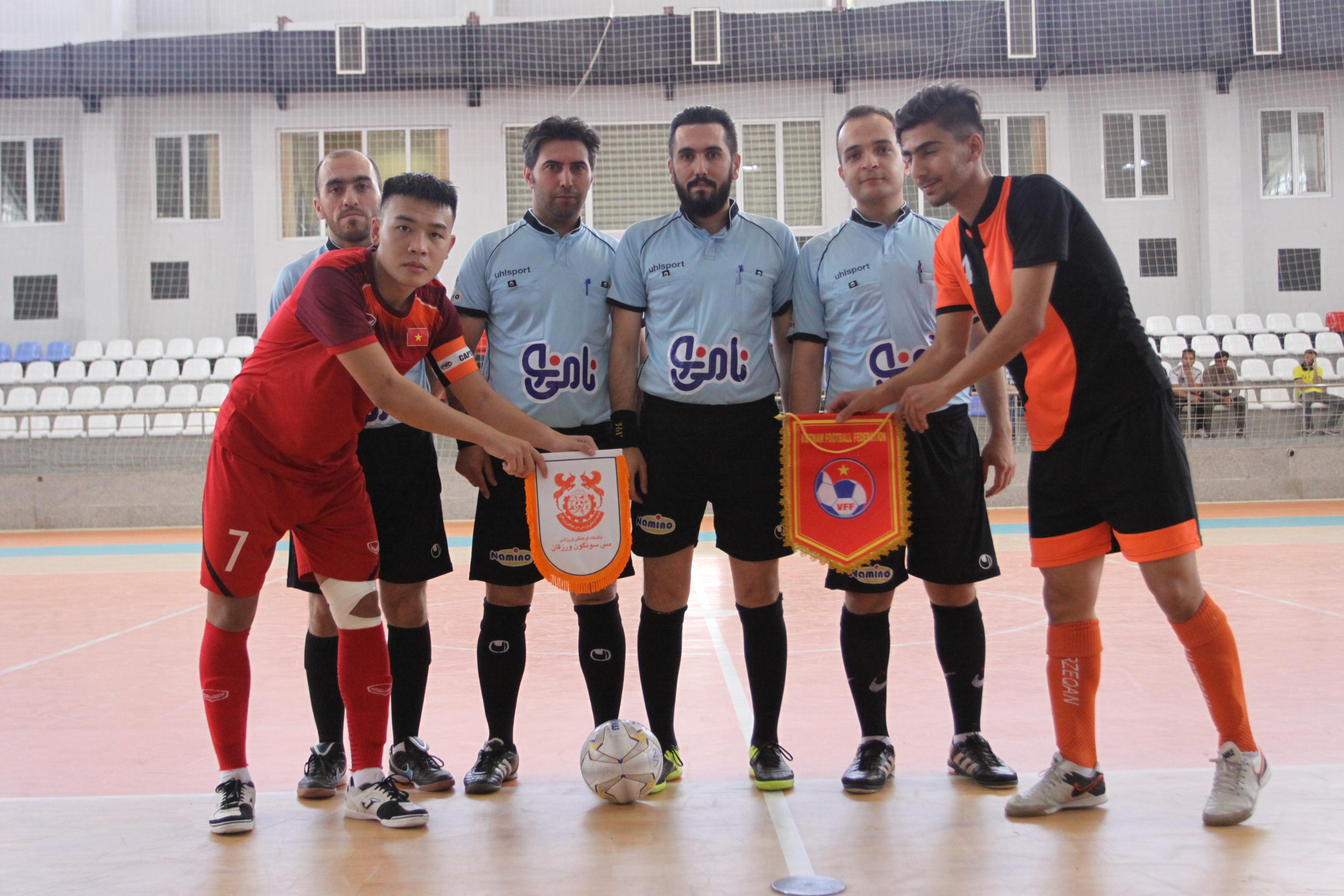 U20 Việt Nam, U20 Futsal Việt Nam, vô địch châu Á Futsal, Mes Sungun futsal, VCK U20 Futsal châu Á 2019